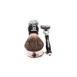 "Evolution Island ""Dark Horse"" Mach 3 Shaving Set"