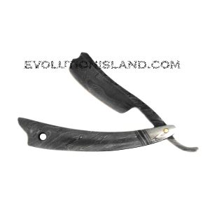 Damascus Steel Straight Razor with Damascus Steel handle